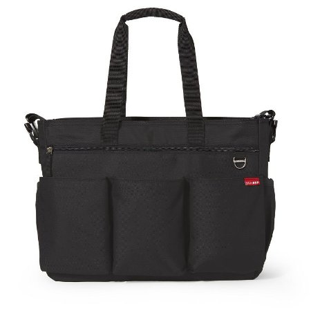 Bolsa Maternidade Diaper Bag Duo Double Signature Black Preta - Skip Hop