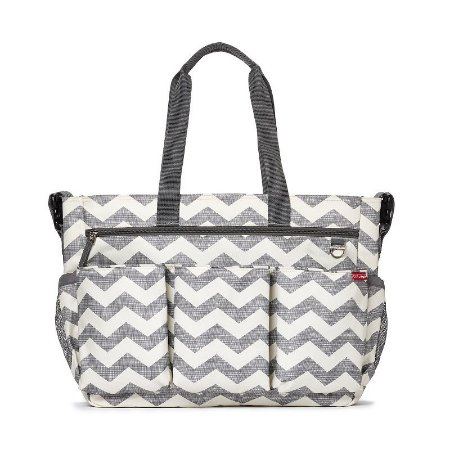 Bolsa Maternidade Diaper Bag Duo Double Signature Chevron - Skip Hop
