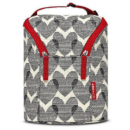 Bolsa Térmica para Mamadeira Double Bottle Bag Hearts Coração - Skip Hop
