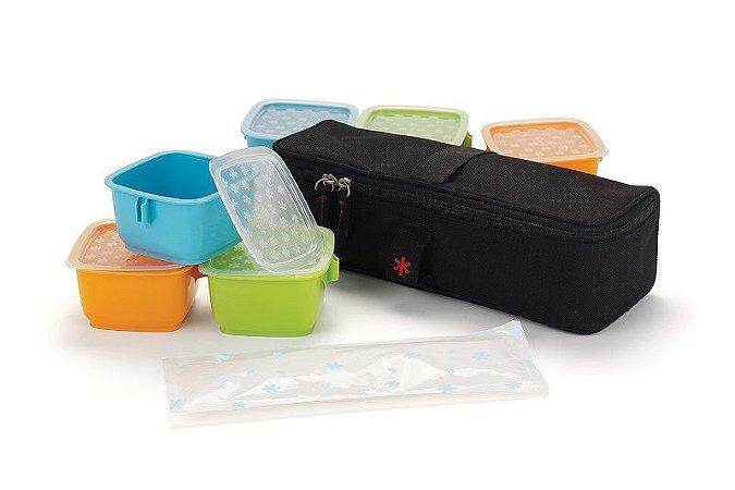 Potes para Armazenamento com Embalagem Térmica Clix Mealtime Skip Hop
