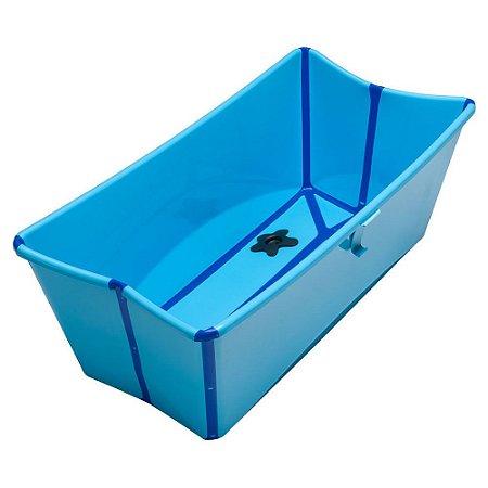 Banheira Portátil Dobrável Azul - Stokke
