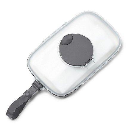 Porta Lenços Umedecidos Wipes Case Skip Hop Grey Cinza