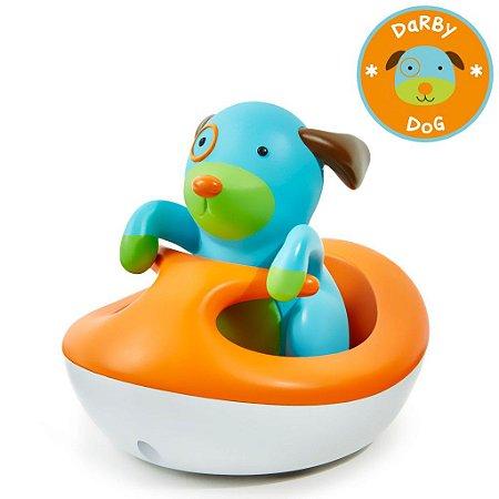 Brinquedo para Banho Skip Hop Linha Zoo Jet Ski Cachorro a Bateria