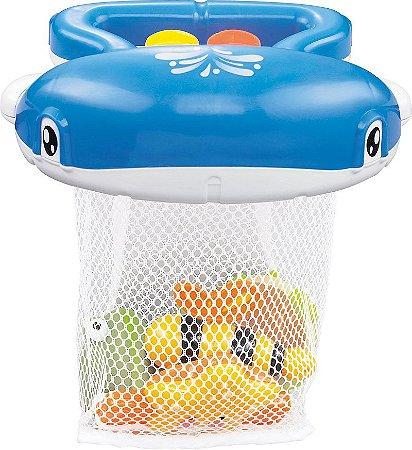 Brinquedo para Banho Divertido Baleia - Pura Diversão