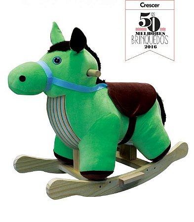 Cavalo de Balanço de Pano Infantil