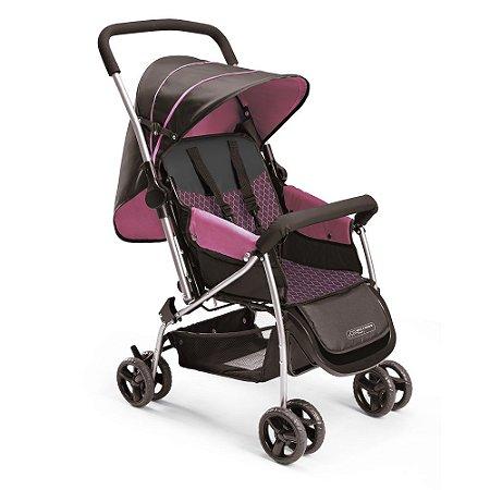 Carrinho de Bebe Berço Flip Multikids Rosa