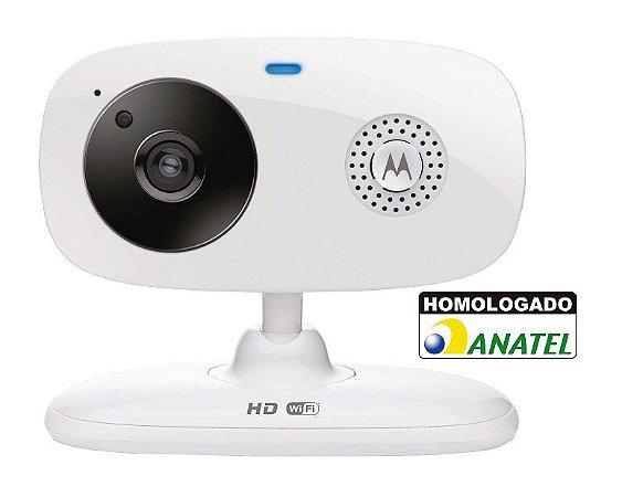 Baba Eletrônica Bebê Câmera de Vídeo Wi-fi Focus66 Visão Noturna - Motorola