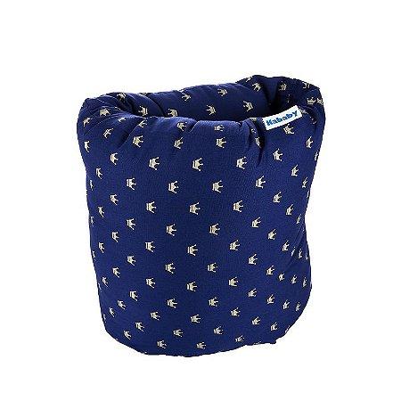 Almofada de Braço para Amamentação Coroa Azul Marinho