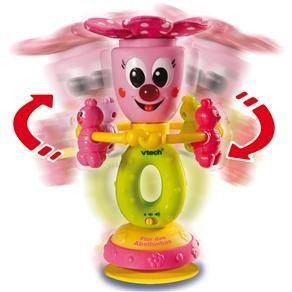Brinquedo Flor das Abelhinhas Musical com Ventosa Antiqueda Removível Vtech