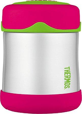 Pote térmico para alimentos Melancia e Verde Thermos Foogo 290 ml