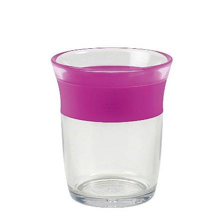 Copo infantil de Plástico  para crianças Grandes 150 ml Oxotot Rosa