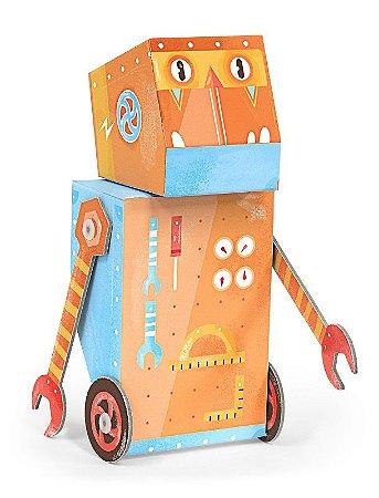 Robô de Montar Construtor