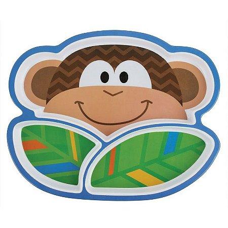 Prato Infantil Macaco - Stephen Joseph