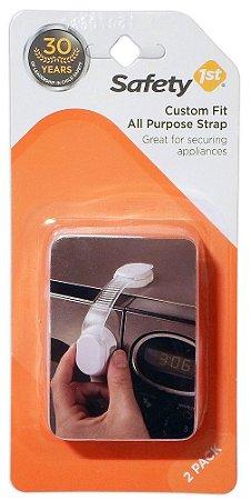 Trava de Silicone para Armário e Portas Multifunções Safety 1st 2Un