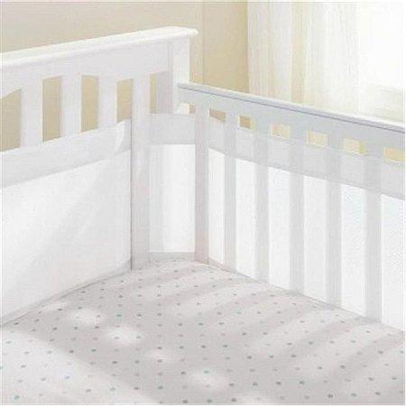 Protetor de Berço Respirável Air Baby - Branca