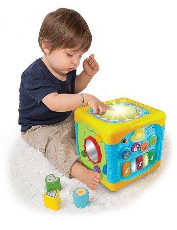 Cubo de Atividades Musical - Winfun