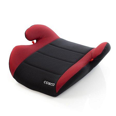 Assento para Carro Booster Go Up Preto e Vermelho 15 a 36 kg - Cosco