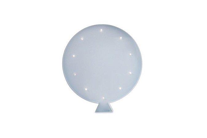 Luminária de Parede Balão Azul Bebê a Pilha