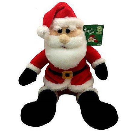 Boneco de Pelúcia Bom Velhinho Papai Noel Natal - DTC