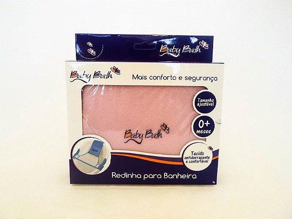 Redinha para Banheira Rosa Baby Bath