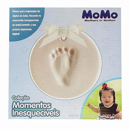 Massa de Modelar Impressão Digital do bebê