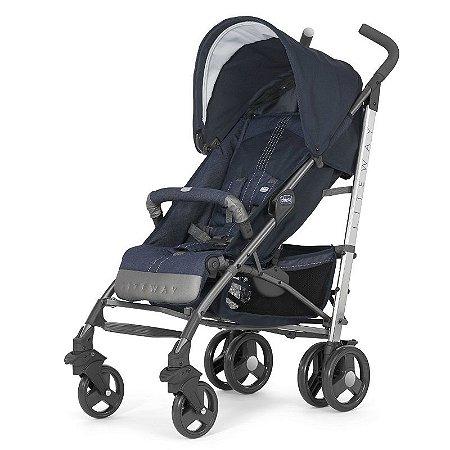 Carrinho de Bebê Lite Way Top 2 Denim - Chicco