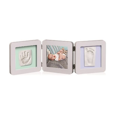 My Baby Touch 2 P porta-retrato arredondado com molde duplo - Pastel