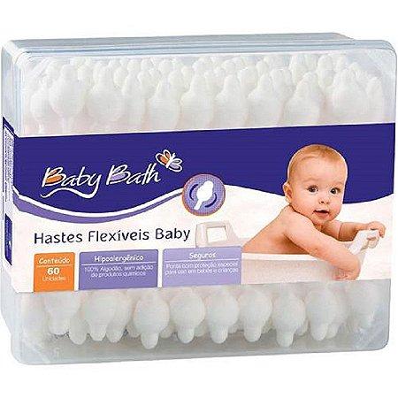 Hastes Flexíveis com 50 unidades - Baby Bath