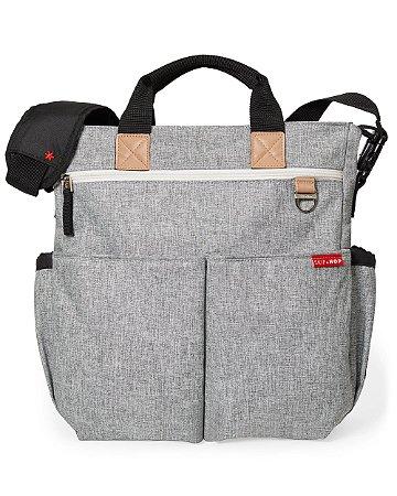 Bolsa Maternidade Diaper Bag Duo Signature Grey Melange Skip Hop