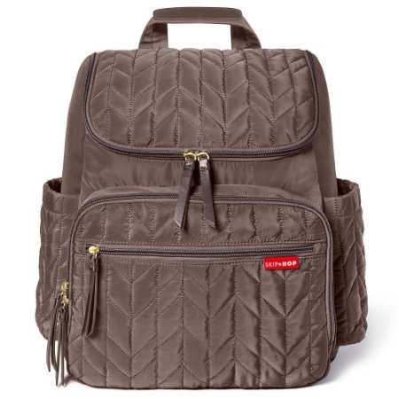 Bolsa Maternidade Skip Hop Diaper Bag Forma BackPack Latte
