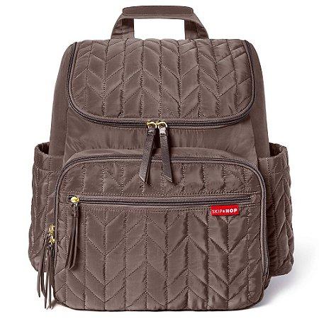 Bolsa Maternidade Diaper Bag Forma BackPack Latte - Skip Hop