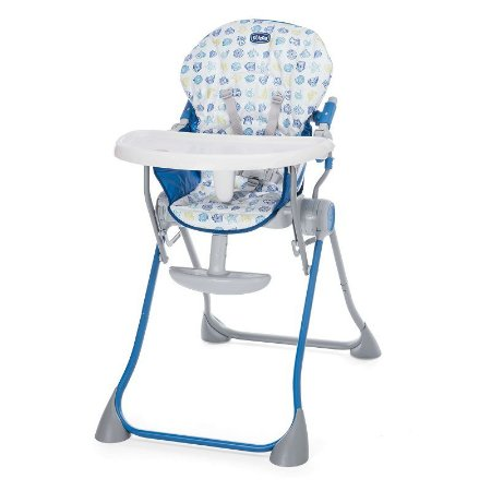Cadeira de Papa Pocket Meal Blue Bras - Chicco