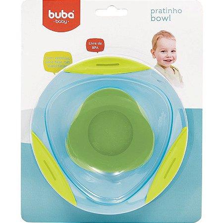 Pratinho Bowl com Ventosa Azul - Buba Baby