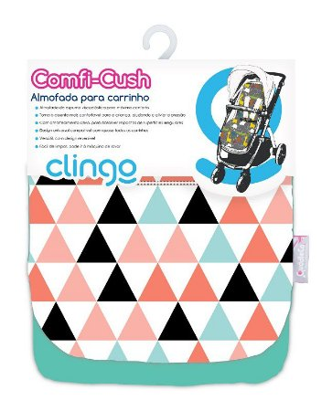Colchão para Carrinho Comfi Cush Triangles - Clingo