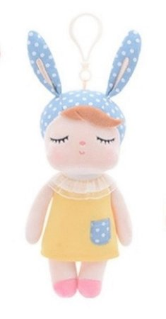 Chaveiro Metoo Doll Boneca Angela Amarela