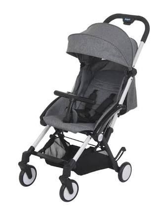 Carrinho de Bebê Up Cinza - Burigotto