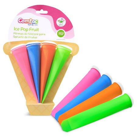 Formas de Silicone para Sorvete de Frutas Ice Pop Fruit