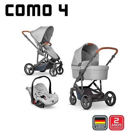 Carrinho COMO 4 Woven Grey Bebê Conforto Graphite - ABC Desing