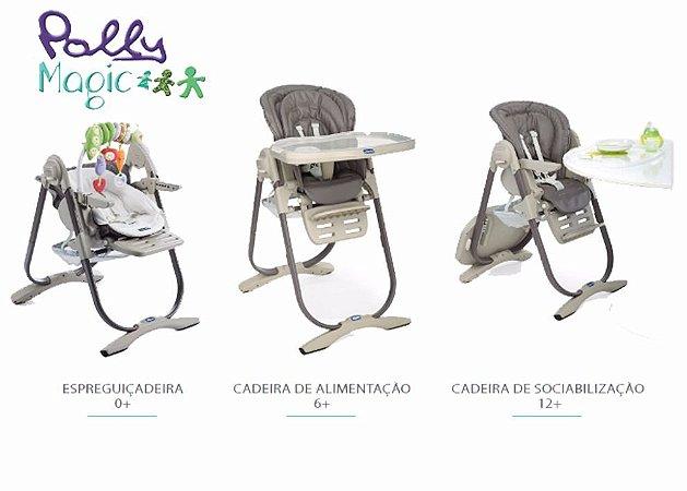 Cadeira de Alimentação Polly Magic Truffles - Chicco