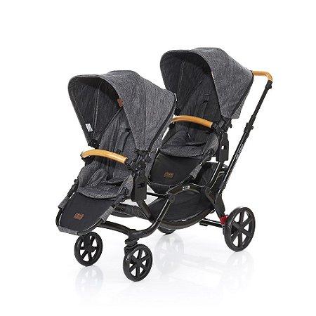 Carrinho de Bebê Travel System Zoom Wood Madeira Gemêos ABC Design