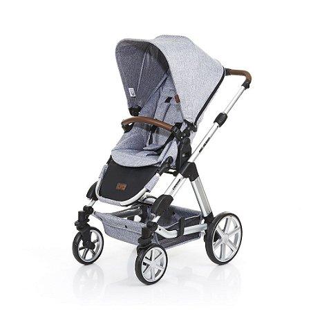 Carrinho de Bebê Travel System Condor 4 com Moisés Graphite ABC Design