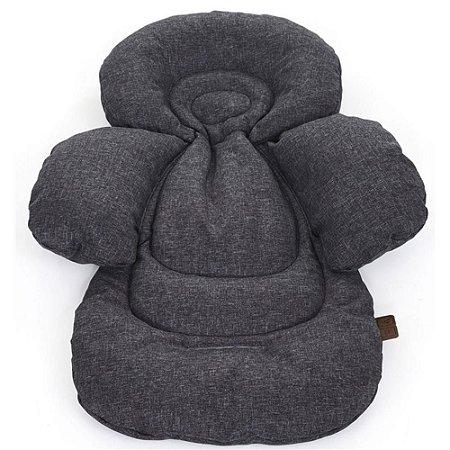 Protetor Almofada para Carrinho de Bebê Comfort Seat Liner Track Cinza - ABC Design