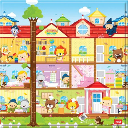 Tapete de Atividades Dupla Face Baby Play Mat Pequeno Dorothy´s House  - Safety 1st