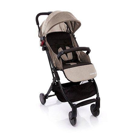 Carrinho de Bebê Pocket Clever Bege Mescla - Cosco