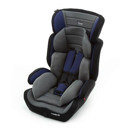 Cadeira para Auto Tour Cinza e Azul 9 a 36 kg - Cosco