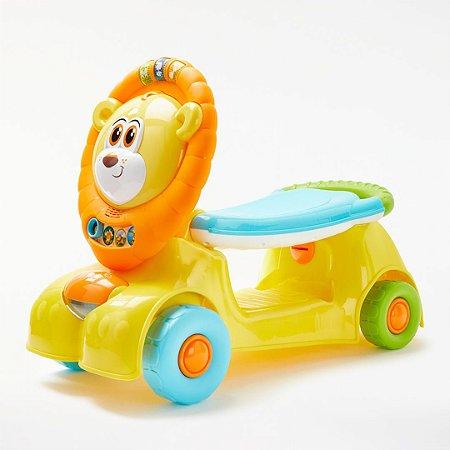 Andador Motoca Leãozinho 3 em 1 Cresce Comigo - Winfun