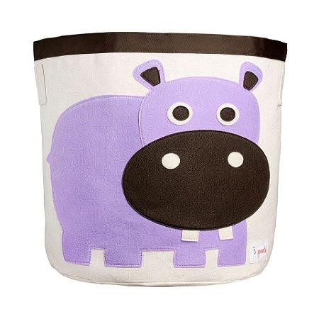 Organizador Redondo Hipopótamo - 3 Sprouts