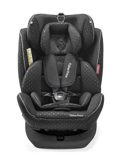 Cadeira para Auto 0-36 kg Easy 360 Fix Preta - Fisher-Price