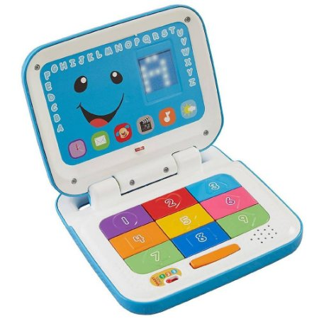 Laptop Aprender e Brincar Azul - Fisher Price