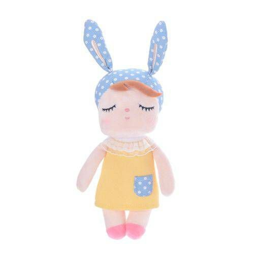Mini Boneca Ângela Clássica Amarela - Metoo Doll